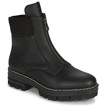 Chaussures Femme Boots Rieker QUAMIN Noir