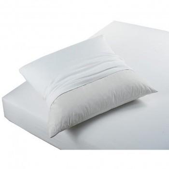 Maison & Déco Taies d'oreillers, traversins Today PROTÈGE OREILLERS ABSORBANT ANTI ACARIENS Blanc