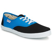 Chaussures Baskets basses Victoria INGLESA BICOLOR Bleu / Noir