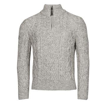 Vêtements Homme Pulls Superdry JACOB HENLEY Gris