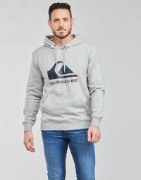 Vêtements Homme Sweats Quiksilver BIG LOGO HOOD Gris