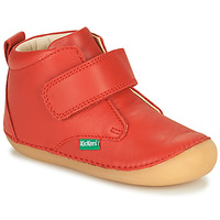 Chaussures Enfant Boots Kickers SABIO Rouge
