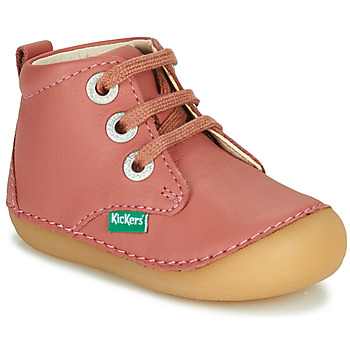 Chaussures Fille Boots Kickers SONIZA Rose
