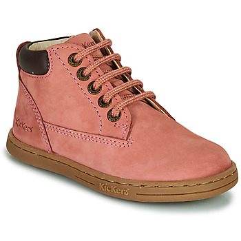 Chaussures Fille Boots Kickers TACKLAND Rose