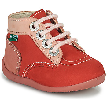 Chaussures Fille Boots Kickers BONZIP-2 Rose