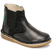 Chaussures Fille Boots Kickers MAELIO Noir