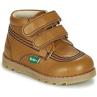 Chaussures Enfant Boots Kickers NONOMATIC Camel