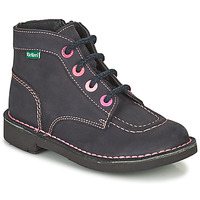 Chaussures Fille Boots Kickers KICK COLZ Marine