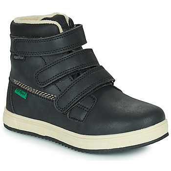 Chaussures Enfant Boots Kickers YEPOKRO WPF Noir
