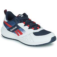 Chaussures Garçon Baskets basses Reebok Sport ROAD SUPREME Blanc / Marine / Rouge
