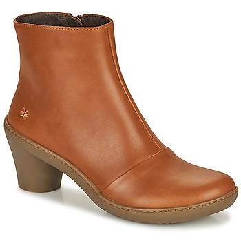 Chaussures Femme Bottines Art ALFAMA Marron