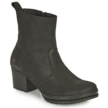 Chaussures Femme Bottines Art CAMDEN Noir