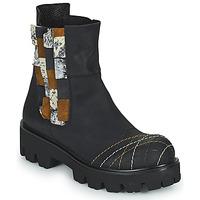 Chaussures Femme Boots Papucei WELS Noir