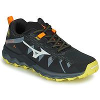 Chaussures Homme Running / trail Mizuno WAVE DAICHI 4 Noir / Orange