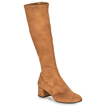 Chaussures Femme Bottes ville Unisa LARTI Camel