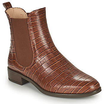 Chaussures Femme Boots Unisa BOYER Camel