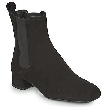 Chaussures Femme Bottines Unisa GUSO Noir