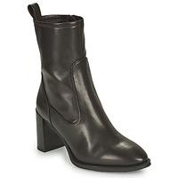 Chaussures Femme Bottines Unisa UNTIL Noir