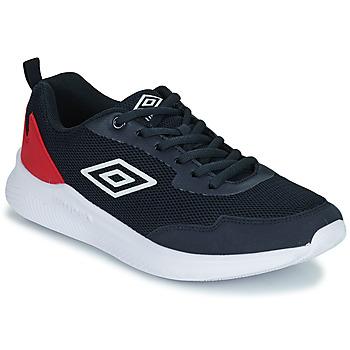Chaussures Enfant Baskets basses Umbro LAGO LACE Bleu  / Rouge