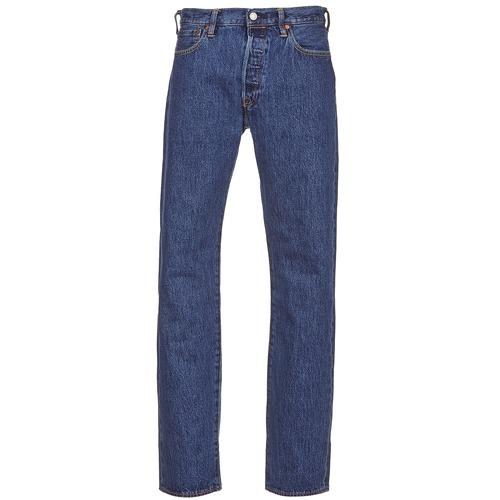 Vêtements Homme Jeans droit Levi's 501 LEVIS ORIGINAL FIT Stonewash