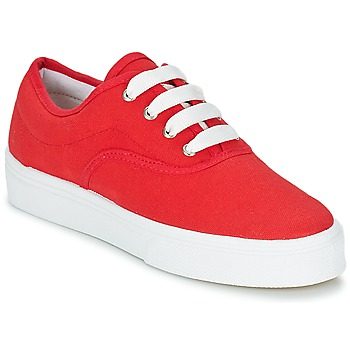 Chaussures Femme Baskets basses Yurban PLUO Rouge