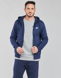 Vêtements Homme Sweats Nike NIKE SPORTSWEAR CLUB FLEECE Bleu marine / Blanc