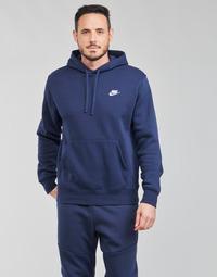 Vêtements Homme Sweats Nike NIKE SPORTSWEAR CLUB FLEECE Marine / Blanc