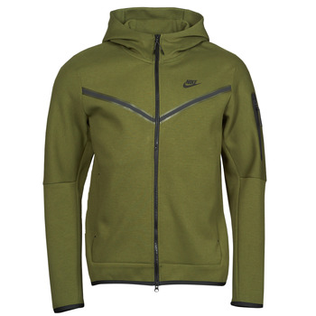 Vêtements Homme Vestes de survêtement Nike NIKE SPORTSWEAR TECH FLEECE Vert / Noir