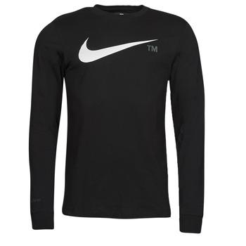 Vêtements Homme T-shirts manches longues Nike M NSW TEE LS GRX TEE Noir