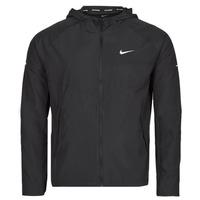 Vêtements Homme Coupes vent Nike M NK RPL MILER JKT Noir / Argenté