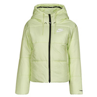 Vêtements Femme Doudounes Nike W NSW TF RPL CLASSIC TAPE JKT Vert / Noir / Blanc