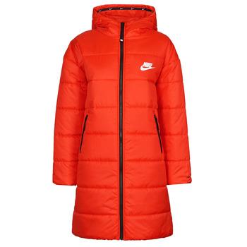 Vêtements Femme Doudounes Nike W NSW TF RPL CLASSIC HD PARKA Rouge / Noir / Blanc