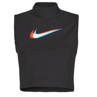 Vêtements Femme Débardeurs / T-shirts sans manche Nike W NSW TANK MOCK PRNT Noir