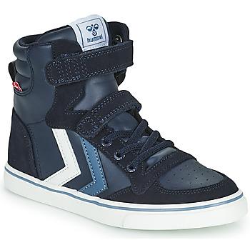 Chaussures Enfant Baskets montantes Hummel SLIMMER STADIL JR Bleu