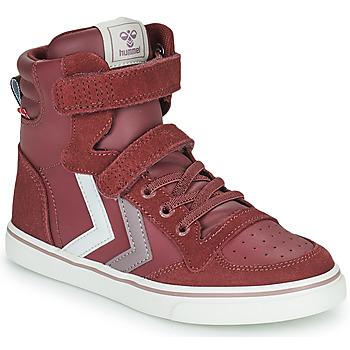 Chaussures Fille Baskets montantes Hummel SLIMMER STADIL JR Violet