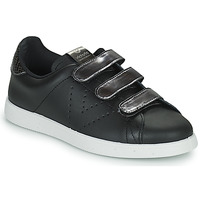 Chaussures Femme Baskets basses Victoria HUELLAS  TIRAS Noir