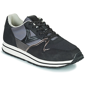 Chaussures Femme Baskets basses Victoria INGLESA LONA Noir