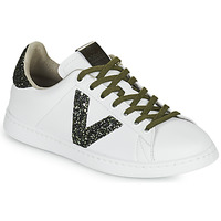 Chaussures Femme Baskets basses Victoria TENIS PIEL Blanc / Kaki