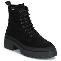 Chaussures Femme Boots Victoria CIELO SERRAJE Noir