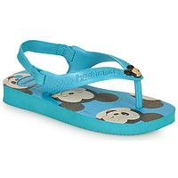 Chaussures Garçon Tongs Havaianas BABY DISNEY CLASSICS II Bleu