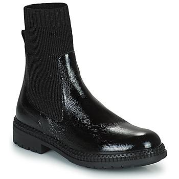 Chaussures Femme Boots Regard CALES Noir