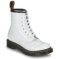 Chaussures Femme Boots Dr Martens 1460 W Blanc