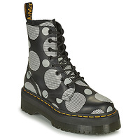 Chaussures Femme Boots Dr Martens JADON Blanc / Gris