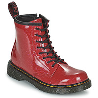 Chaussures Fille Boots Dr Martens 1460 J Rouge