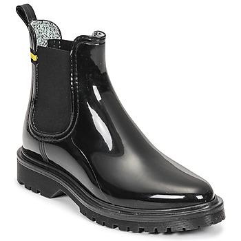 Chaussures Femme Bottes de pluie Lemon Jelly MAREN Noir