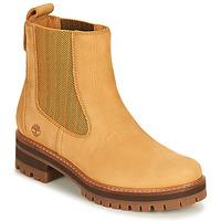 Chaussures Femme Boots Timberland COURMAYEUR VALLEY CHELSEA Blé