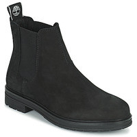 Chaussures Femme Boots Timberland HANNOVER HILL CHELSEA Noir