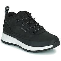 Chaussures Enfant Baskets montantes Timberland FIELD TREKKER LOW Noir