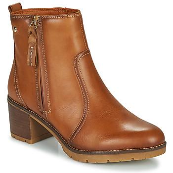 Chaussures Femme Bottines Pikolinos LLANES Marron