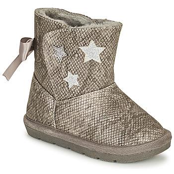 Chaussures Fille Bottes ville Chicco CLOVY Argenté